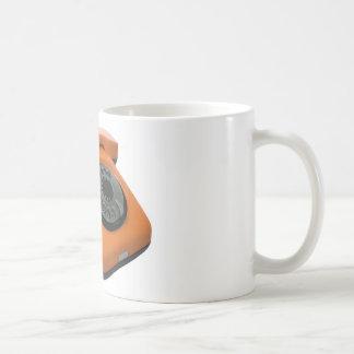 teléfono taza de café