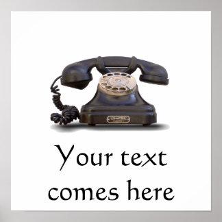 Teléfono viejo posters