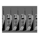 Teléfonos celulares de la escuela vieja postales