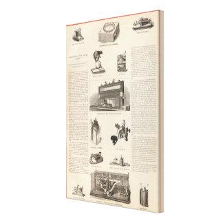 Telegrafía en los Estados Unidos Lienzo Envuelto Para Galerías