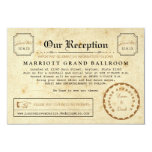 Telegram Reception After Party Travel Insert Card Personalized Invites