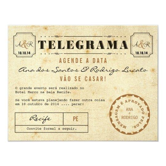 telegramas online dating