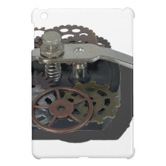 TelegraphKeyWithGears062115 iPad Mini Covers