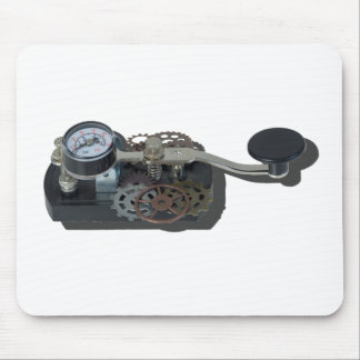 TelegraphKeyWithGears062115 Mouse Pad