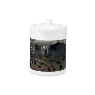 TelegraphKeyWithGears062115 Teapot