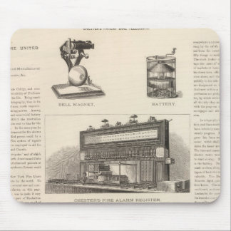 Telegraphy in the United States Mouse Pad