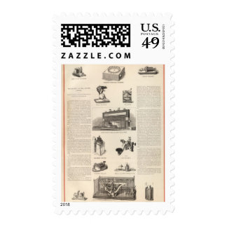 Telegraphy in the United States Postage