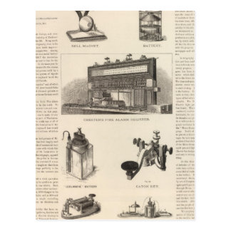 Telegraphy in the United States Postcard