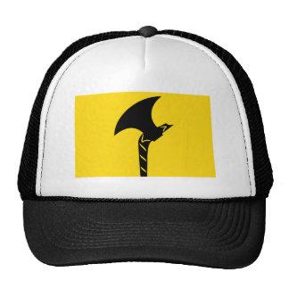 Telemark flag trucker hats