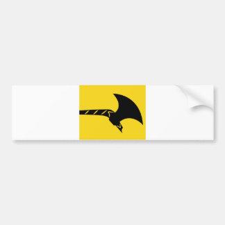 Telemark flag norway region bumper stickers