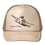 Telemark skier Cap Hats