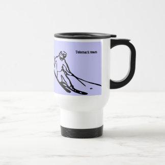 Telemark skier Mug