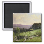 Telemark, South Norway 2 Inch Square Magnet