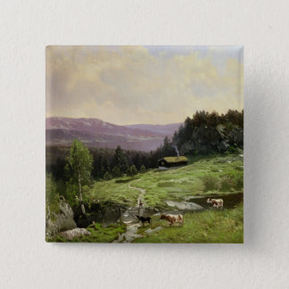 Telemark, South Norway Pinback Button