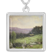 Telemark, South Norway Silver Plated Necklace