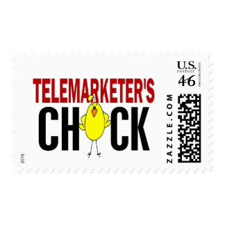 Telemarketer s Chick Stamps