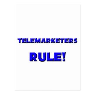 Telemarketers Rule! Postcard