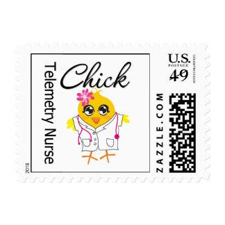 Telemetry Nurse Chick v2 Postage