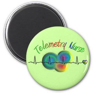 Telemetry Nurse Gifts Magnet