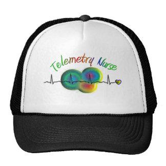 Telemetry Nurse Gifts Trucker Hat