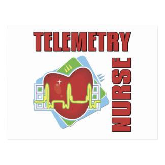 Telemetry Nurse Postcards