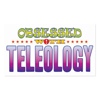 Teleology 2 Obsessed Pack Of Standard Business Cards