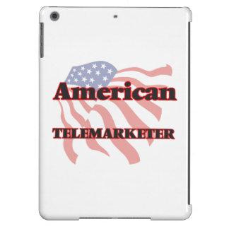 Teleoperador americano funda para iPad air