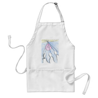 Telepathic Commission Adult Apron