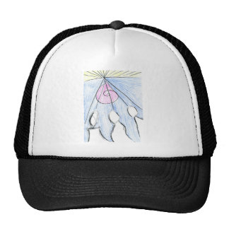 Telepathic Commission Trucker Hat