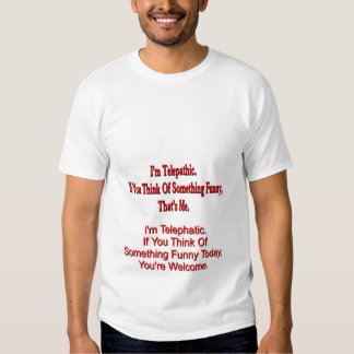 Telepathic Tee Shirts