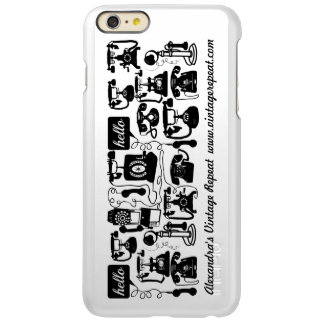 Telephone Black and White or Any Color Background Incipio Feather® Shine iPhone 6 Plus Case