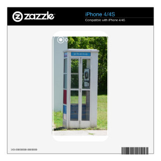 Telephone Booth Decals For The iPhone 4
