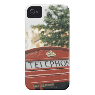 Telephone booth in London England Case-Mate iPhone 4 Case