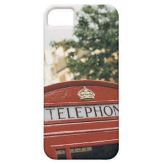 Telephone booth in London England iPhone 5 Cases