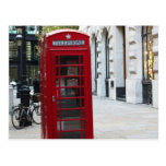 Telephone booth postcards