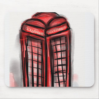 Telephone Booth Products Mouse Pad