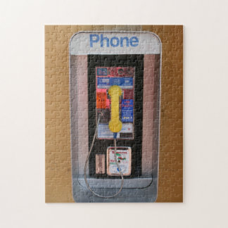 Telephone Booth / Public Payphone Jigsaw Puzzle