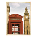 Telephone Box and Tower of Big Ben Personalized Invite