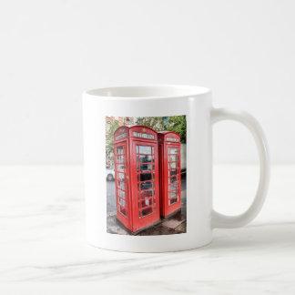 Telephone box coffee mug