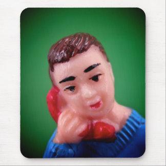 Telephone Boy Mousepad