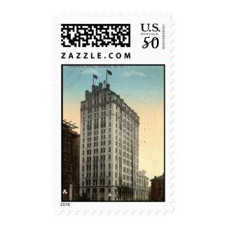 Telephone Building, Buffalo NY 1915 Vintage Postage