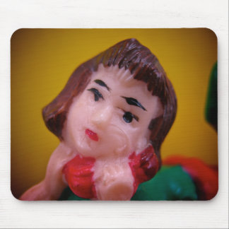 Telephone Girl Mousepad
