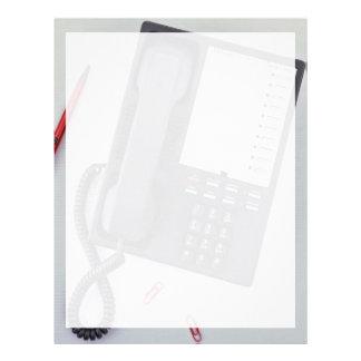 Telephone Custom Letterhead