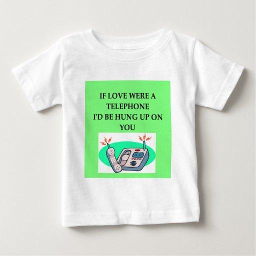 TELEPHONE lovers Tee Shirts
