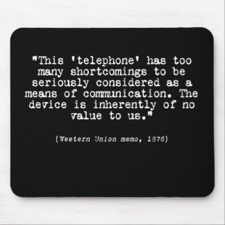 Telephone Mouse Pad
