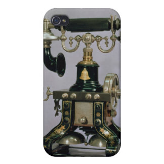 Telephone, National Telephone Service, USA, 1890 Cover For iPhone 4