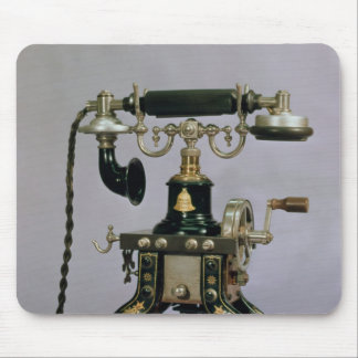 Telephone, National Telephone Service, USA, 1890 Mouse Pad