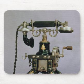 Telephone, National Telephone Service, USA, 1890 Mousepad