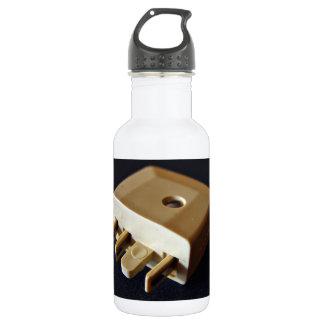 Telephone plug to standard RJ-11 adaptor 18oz Water Bottle