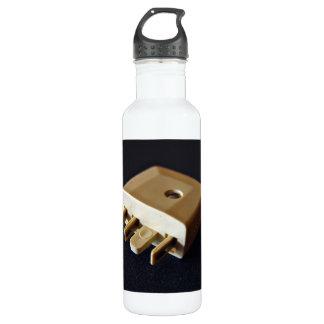 Telephone plug to standard RJ-11 adaptor 24oz Water Bottle